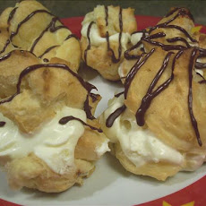 Vanilla Cream Puffs