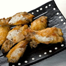Singaporean Chicken Rice Wings Recipe