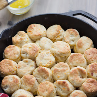 Bacon Cheddar Ranch Angel Biscuits