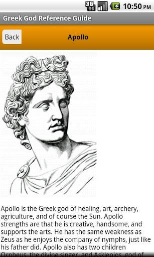 Greek God Pocket Reference