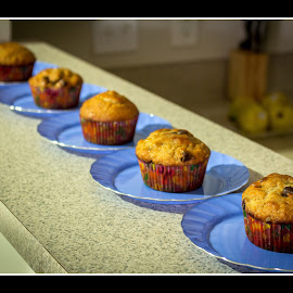 Muffins by Naresh Balaguru - Food & Drink Plated Food ( muffins )
