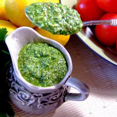 Parsley Pesto (Useful for Many Dishes!)