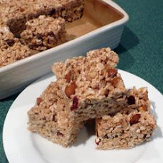 Cinnamon Rice Krispies Bars