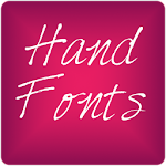 Hand3 fonts for FlipFont® free 6.3 Apk