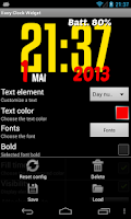Screenshot of Easy Clock Widget Lite