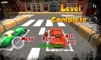 Screenshot of Crazy Cartoon Parking King 3D