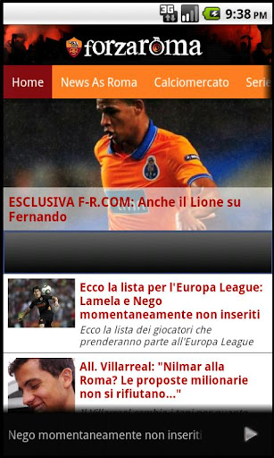 AS Roma news e calciomercato