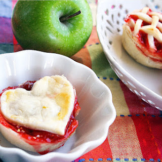 Mini Apple and Cherry Pies