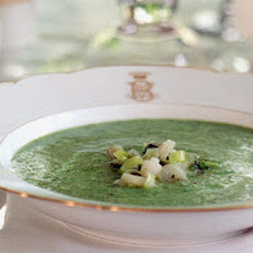 Watercress and Ramp Soup