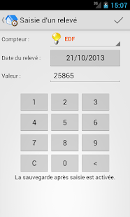 Relevés De Compteurs Full - screenshot