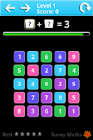 Screenshot of Sunny Maths Lite