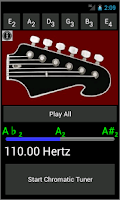 Screenshot of Guitar Strings - Guitar Tuner