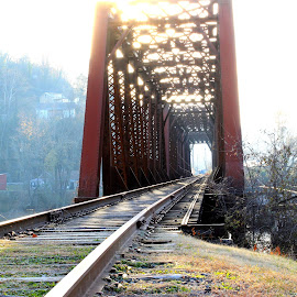 by Terry Herndon - Transportation Railway Tracks
