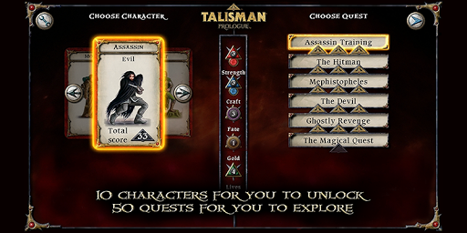 Talisman: Prologue - screenshot