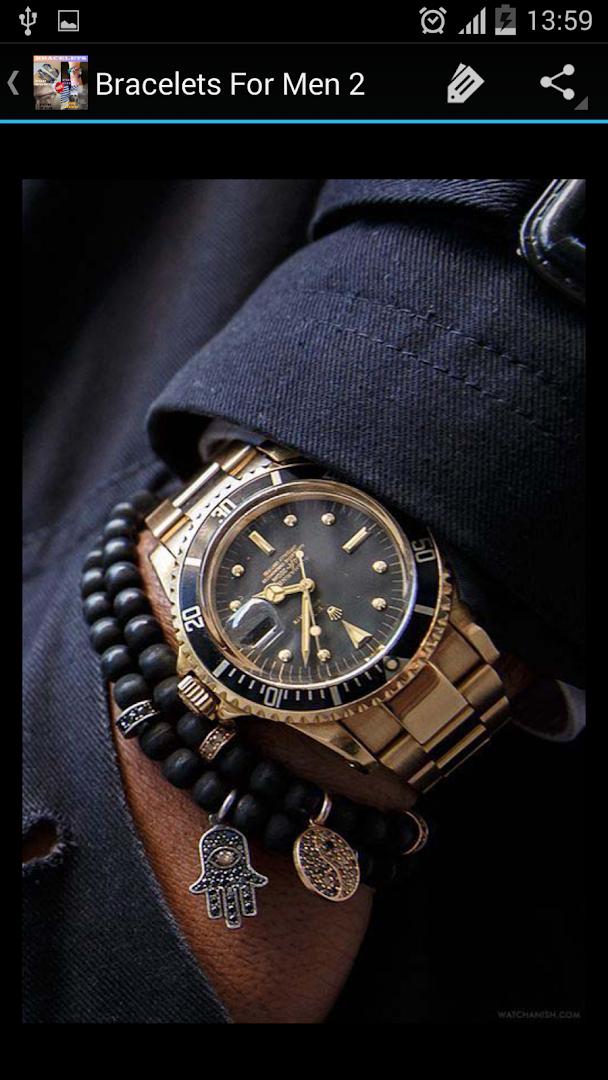 Как носят браслет с часами