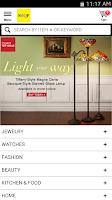 Screenshot of SHQP ShopHQ Mobile