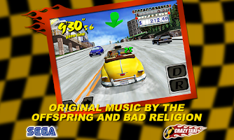 Screenshot of Crazy Taxi