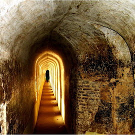 Corridor of Sunbeams by Mrinmoy Ghosh - Buildings & Architecture Public & Historical (  )