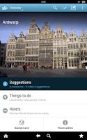 Screenshot of Antwerp Travel Guide Triposo