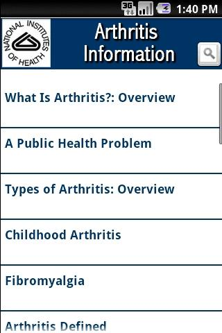 NIH: Arthritis Information