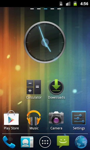 GO Launcher EX Theme ICS