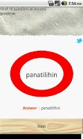 Screenshot of Tagalog English Quiz Ⅱ 【FREE】