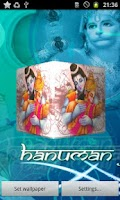 Screenshot of Hanumanji 3D Live Wallpaper