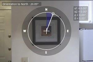 Screenshot of Telemeter - camera measure