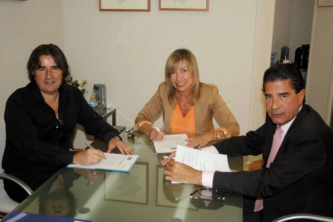 ANTEQUERA, XANIT HOSPITAL INTERNACIONAL AND MANCOMUNIDAD DE PROPIETARIOS BENALMÁDENA GOLF SIGN AN AGREEMENT TO IMPROVE THEIR GROUPS