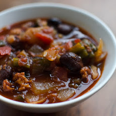 Chipotle and Chorizo Red Beans