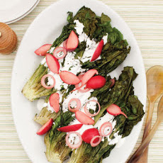 Charred-Romaine Salad