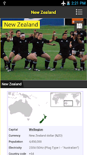 New Zealand Travel GuideWithMe - screenshot