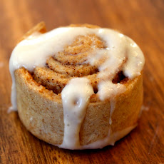 Spelt Cinnamon Rolls with Cinnamon Cream Cheese Frosting