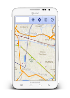 Screenshot of แผนที่ประเทศไทย
