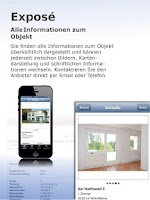 Screenshot of Volksbank Immobilien GmbH