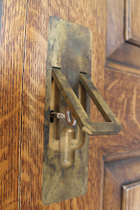 Bespoke Armoire - Custom Made and Aged Brass Handles