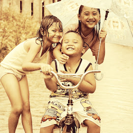 RAIN by Hendra Hermawan - Babies & Children Child Portraits