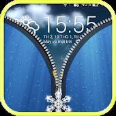 Lock screen zipper APK for Bluestacks