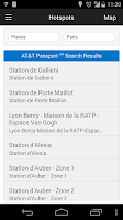 Screenshot of AT&T Passport℠