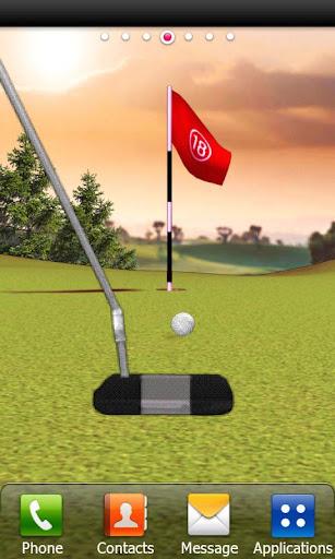 골프 퍼팅 라이브 배경화면