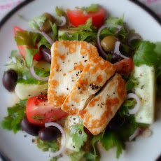 Grilled Feta Salad