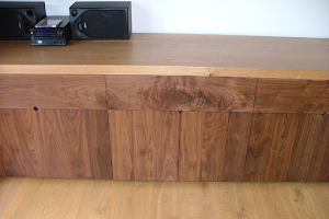 Contemporay Sideboard, Dovetailed in Contrasting Oak and American Black Walnut