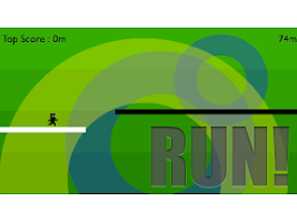 Screenshot of Run! Black&White