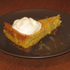 Pumpkin Cheesecake With Bourbon