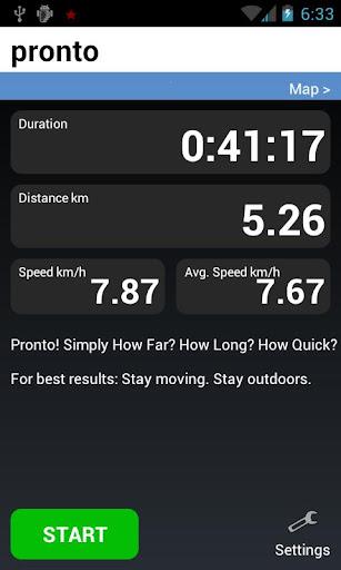 Pronto Sport Tracker