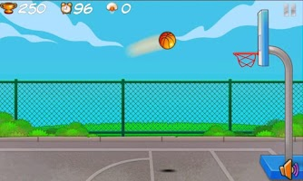 Screenshot of Popu BasketBall