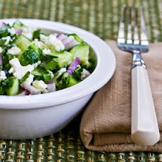 Cucumber, Onion, and Parsley Salad