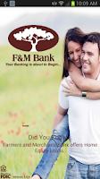 Screenshot of F & M Mobile Banking