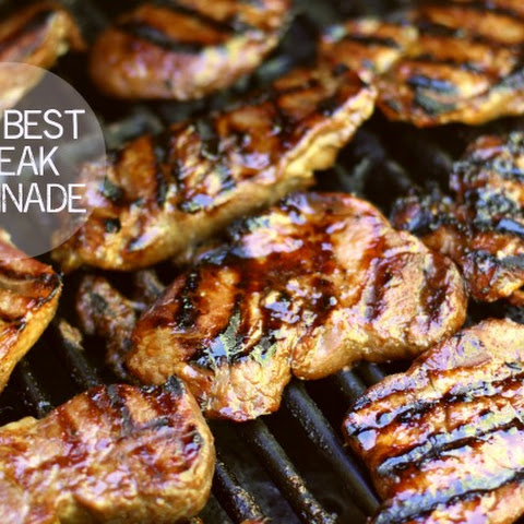 The BEST Steak Marinade