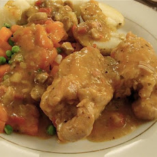 Delicious One Pot/Casserole Chicken Thighs